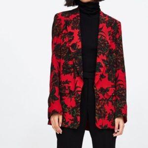 🖤SALE🖤 Zara floral blazer